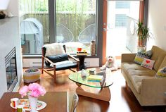 HGTV.ca Original Home Tour: Mike & Sami Mix Vintage, Modern and Handmedowns for a Chic Vancouver Townhouse - Style Sheet - HGTV Canada