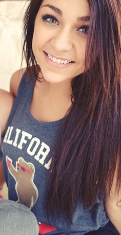 (FC: Andrea Russett) I am Skai, I am 18 and in the middle of my second year of college. I am smart and chatty. I am shy at first but, people say that once you get to know me, I never shut up. I am single and looking for a roommate.