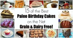 15 Paleo Birthday Cakes