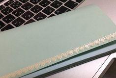[C] 紙で作った財布。意外と頑丈にできた!