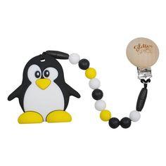 Penguin Teether - Glitter & Spice - 1