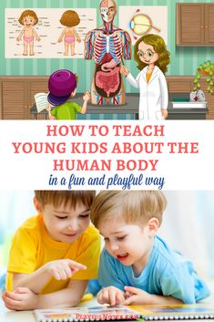 Great supplement for Anatomy! If you want to find some awesome human body activities for young kids, here is a list of a lot of ideas that little learners will enjoy! | Human body activities for kids | Human body activities for toddlers | Preschool activities about the human body | Human body activity ideas #homeschoolingideasfortoddlers #homeschoolingfortoddlers