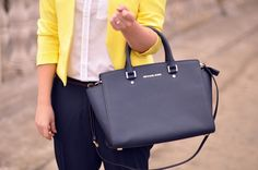 just got added this bag to my mk collection and im in love!!!!...Michael kors selma