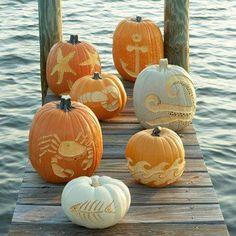 Halloween at the beach