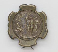 Sword Pommel Date: ca. 1500 Culture: Italian Medium: Bronze Dimensions: Diam. 3 in. (7.6 cm)
