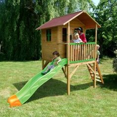 Casitas infantiles on pinterest minis play houses and for Casita infantil jardin