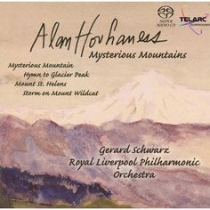 Alan Hovhaness is a transcendent, mystical composer who was too far out to ever be commercially viable, even though the music is quite beautiful. Telarc were a champion and Mysterious Mountains is Hovhaness at his best, with a fine DSD recording.