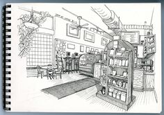 Tenn Street Coffee and Books by paul heaston, via Flickr
