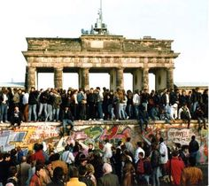 NOV. 9, 1989: EAST GERMANY OPENS ITS BORDERS  Allowing travel from East to West Berlin, East German officials opened the Berlin Wall on this day. Reveling Germans began tearing down the wall from the following day. The official demolition began in June 1990.