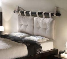 Originelle Ideen für Bett-Kopfteile bzw. -Rückwände