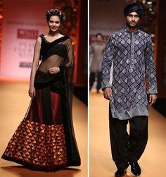 Manish Malhotra's 'Phulkari' collection at Wills India Fashion Week - WeddingSutra Blog