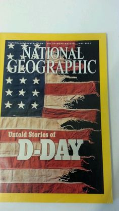 national geographic d-day map