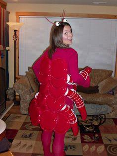 Lobster Halloween costume!