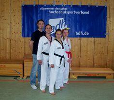 Das Taekwondo-Team der FAU zählt zu den besten in Deutschland.