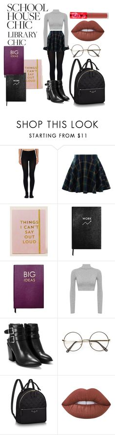 """Stressed but well dressed"" by azazelacain on Polyvore featuring Wolford, Chicwish, Natural Life, Sloane Stationery, WearAll, Nasty Gal and Lime Crime"