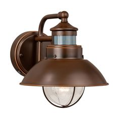 Shop Vaxcel Lighting  T012 Harwich Smart Lighting 7-3/4-in Outdoor Wall Light at ATG Stores. Browse our outdoor sconces, all with free shipping and best price guaranteed.