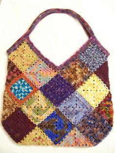 Ravelry: Hobo bag of Miniriffic Goodness pattern by Sandra Villanueva