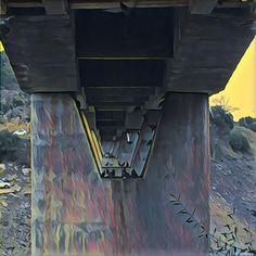 Las palomas del #puente del Cardenal. Río #Tajo. #lascarreterasdeExtremadura #prisma