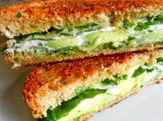Avocado & Grilled Goat Cheese