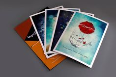 Art print set   Unposted Letters   Limited Edition