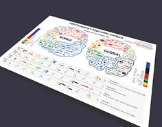 """Check out new work on my @Behance portfolio: """"100 Company's color analysis - Infographic"""" http://be.net/gallery/38537065/100-Companys-color-analysis-Infographic"""