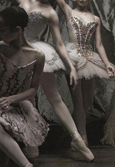 Taupe ballerinas