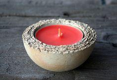 Windlicht, Teelicht, Blumenschale SCHICHTEN von Britt-Keramik - Gartenkeramik & mehr auf DaWanda.com