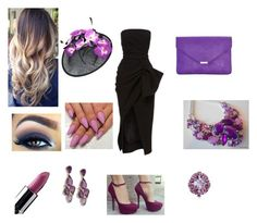A day at the races using different shades of purple  by georgia-rose22 on Polyvore featuring polyvore, Mode, style, Ross-Simons and Lime Crime