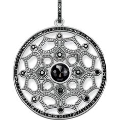 pendant black Lotos - – collection from Order now easy & secure in our official THOMAS SABO online shop! Thomas Sabo, Silver Prices, Jewelry Packaging, Rose Gold Plates, Sterling Silver Pendants, Online Outlet, Outlet Store, Charm Jewelry, Fine Jewelry