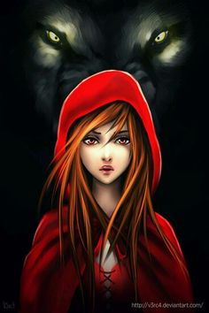 Red riding hood  :)  Perfect