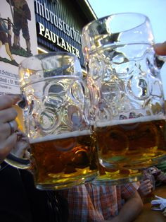 Oktoberfest 2009, Paulaner Beer Tent.  I think I was there ;)