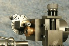 Cowells dividing head attached to Vertical Milling Slide