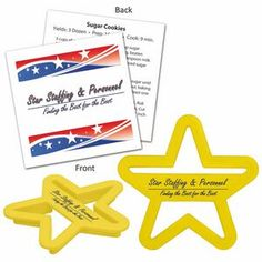 Star Cookie Cutters for Memorial Day and Fourth of July Events