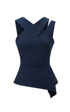 Designer ladies evening tops from Roland Mouret. Shop a wide range of stylish designs, including sleeveless, off the shoulder and asymmetrical tops in satin, viscose and velvet. Mode Top, Evening Tops, Fashion Details, Fashion Design, Dress Patterns, African Fashion, Blouse Designs, Fashion Dresses, Cute Outfits