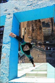 Just Another Russian Daredevil Hanging Off Vertigo-Inducing Ledges