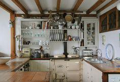 cuisine ancienne avec un pied dans la modernité