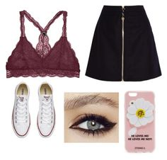 """""""Going risky"""" by kenzie4ever11 on Polyvore featuring Acne Studios, Converse and Iphoria"""