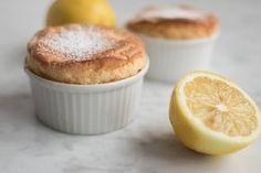 Påskefin og frisk citronsoufflé.