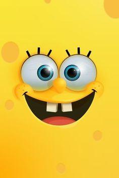 SpongeBob #iPhone 4s #Wallpaper  http://www.ilikewallpaper.net/iphone-wallpaper/, keep it as your iPhone wallpaper warehouse.