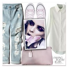 """""""Monday Look"""" by lucky-1990 ❤ liked on Polyvore featuring Jil Sander and Converse"""