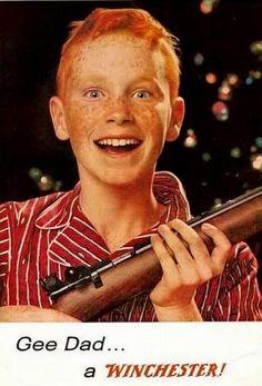 Geschenkidee? Waffenwerbung zu Weihnachten - zynischer geht es nicht mehr.
