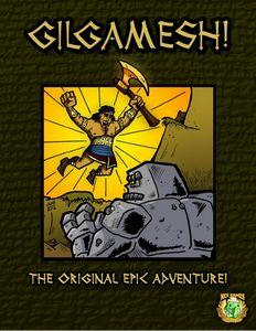GILGAMESH! cover by Joshua LH Burnett