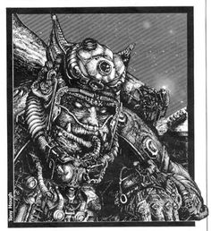 Warhammer Oddities - Chapter Approved: The Book of the Astronomican Wolf Time, Marine Love, Hieronymus Bosch, Space Pirate, Space Wolves, Game Workshop, The Grim, Warhammer 40000, Space Marine