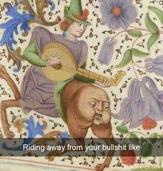 30 Super Ideas For Art History Humor Funny Fun Renaissance Memes, Medieval Memes, Medieval Art, Medieval Manuscript, Illuminated Manuscript, Classical Art Memes, Funny Art, Funny Memes, Fun Funny
