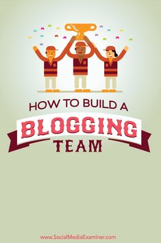 With a team of bloggers, you can share the workload and keep your blog updated with fresh content.  In this article you'll discover how to set up and support a blogging team for your business.