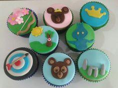 Cupcakes Valente - Drucka Machado Bolos - www.facebook.com/druckamachadobolos