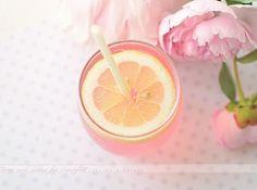 Lemonade and peonies