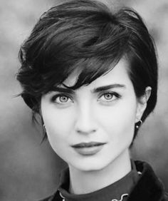 Short hairstyles for fine hair are one of the hairstyles that women often think of, but they don't dare to try them. There are many short and pleasant hairstyles for fine hair. Fine hair is o… Longer Pixie Haircut, Short Pixie Haircuts, Hairstyles Haircuts, Short Hair Cuts, Pixie Bob, Long Pixie Hair, Pixie Haircut Thick Hair, Thick Pixie Cut, Best Haircuts