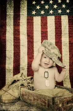 Cute military photos with baby. Military Love, Army Love, Military Photos, Military Families, Military Service, Cute Photos, Baby Photos, Cute Pictures, Military Baby Pictures