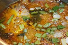 Braised Mackerel Fish with Pineapple and Vermicelli (Bún Cá Thu Kho Dứa)
